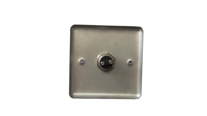 Stainless steel Panel  Hollow Door Release Push Button for Access Control