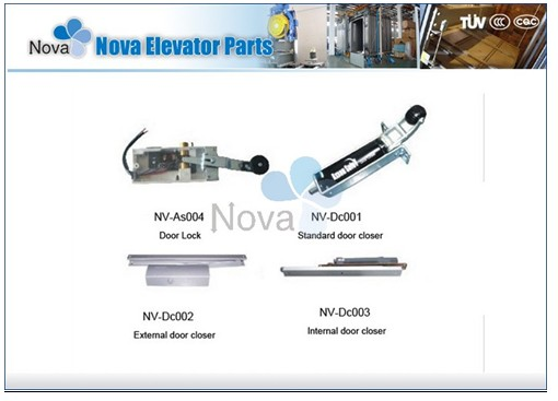 NV31-S Series  Stainless Steel Semi-Automatic Elevator Automatic Door For Cargo Lift