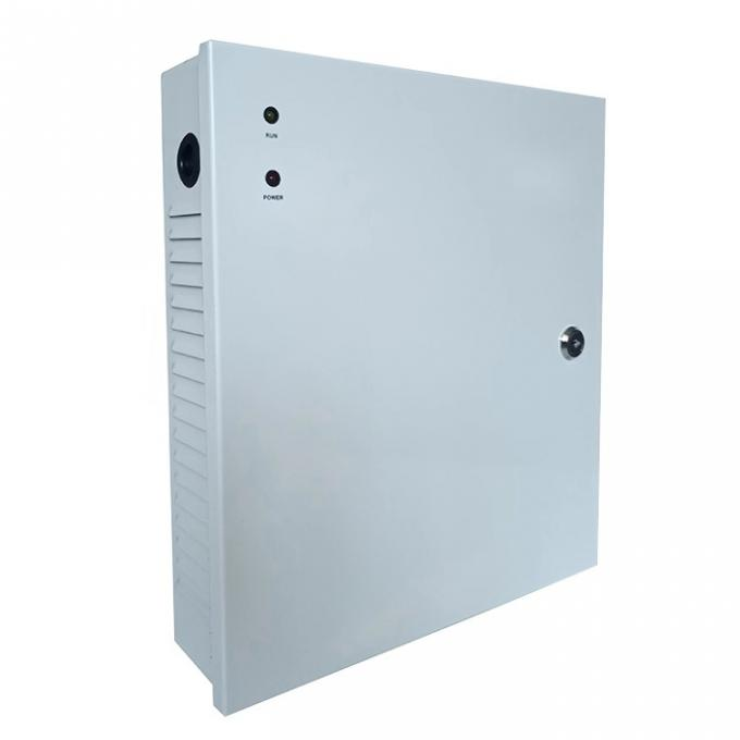 Steel Plate Electric Strike Power Supply Power Box For TCP/IP Access Controller
