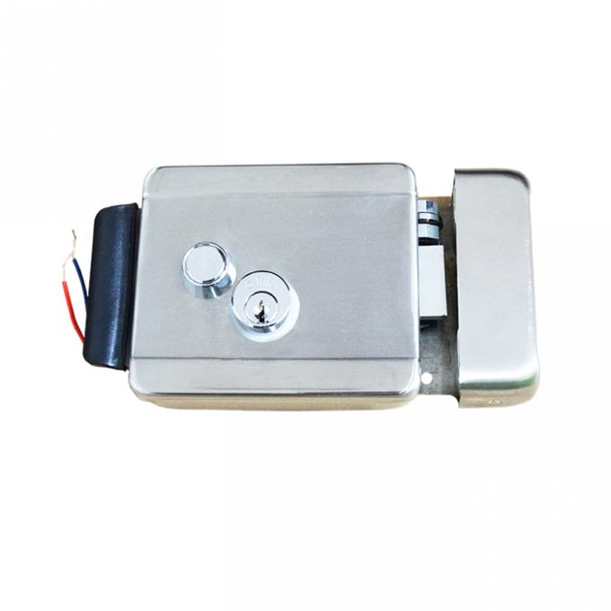 Double Cylinder Electric Rim Lock 20mm Cylinder Rim Size For Bulding Apartment