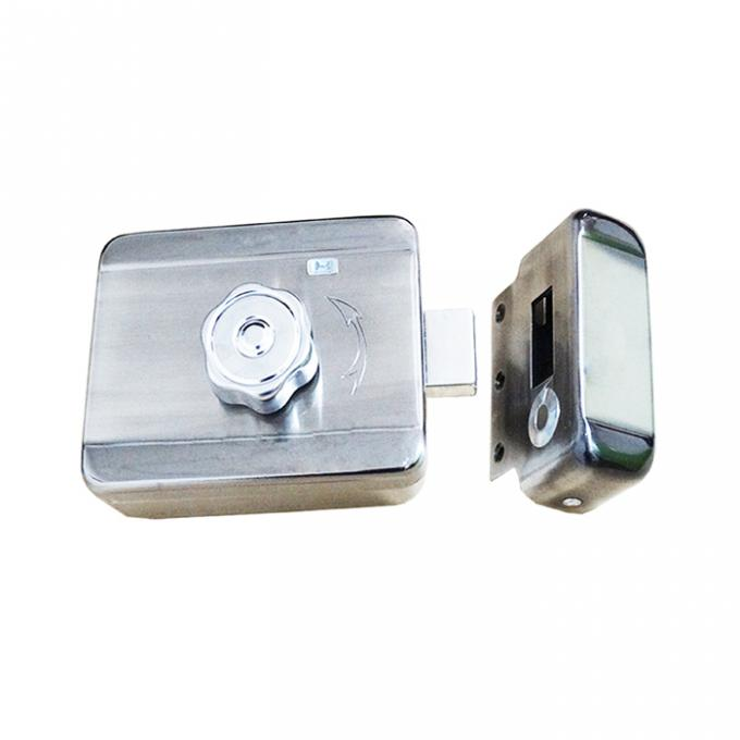 Intelligent Electric Rim Lock For Outward Opening Doors Fail Safe Secure Type