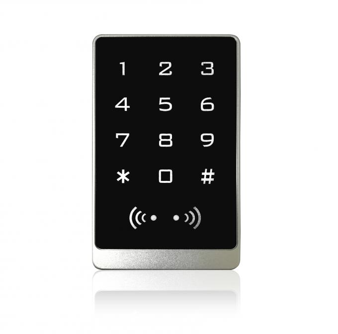 Anti Corrosion Standalone Keypad Access Control RFID Reader Metal Aluminum Alloy