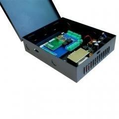 China Apatment Two Doors Access Control Controller 12VDC Real Time Supervision supplier