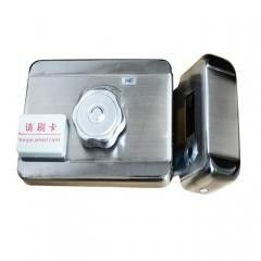 China All In One Security Rim Lock Electric Intelligent Lock Support Swipe Card With Motor Sensor supplier