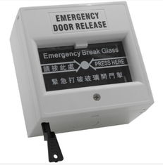 China Grey Emergency Exit Button Emergency Door Release Break Glass Unit For Fire Alarm supplier