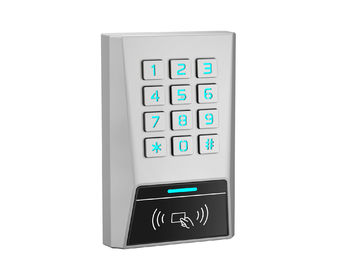 China Zinc Alloy Waterproof Standalone Access Control Keypad PIN code Reader Swipe 125Khz EM HID Card supplier