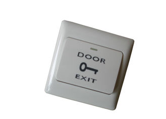 Good Quality Fireproof ABS Material Hollow Door Release Push Buttons for Access Control Sales