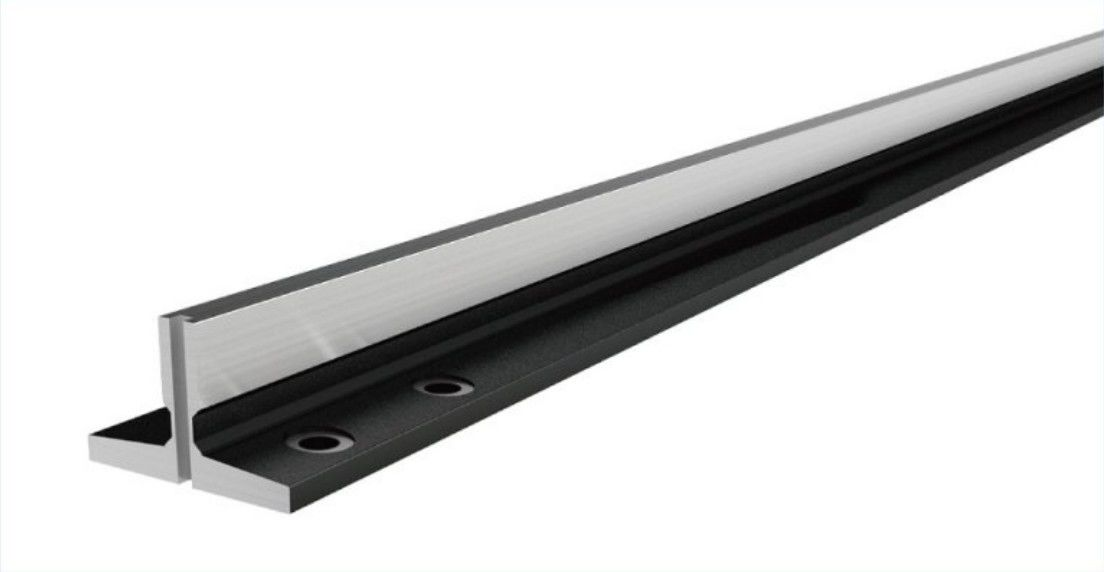T series Machined Guide Rail for elevator spare part