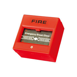 Fireproof Emergency Exit Button / Emergency Door Release Button Sandblast Finished
