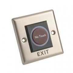 China Metal Infrared No Touch Exit Button  Infrared Sensor Touch Free Door Exit Button With LED Indicator factory