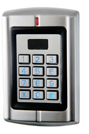 12v Door Access Control Keypad Zinc Case Stadalone Access Controller With Wiegand Input